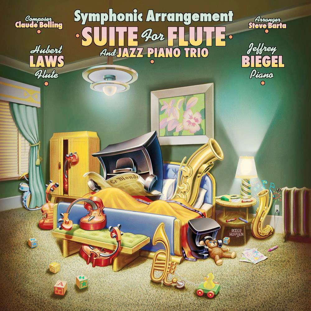 Symphonic Arrnagemnt of Suite for Piano and Jazz Piano Trio - CD Cover