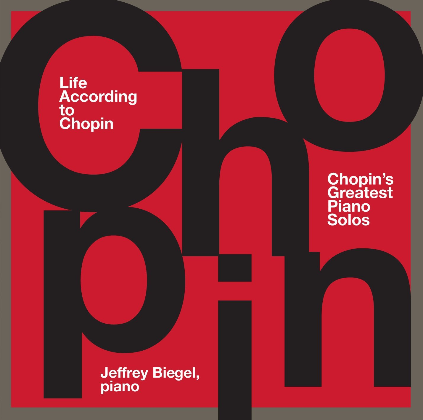 Life According To Chopin - CD Cover